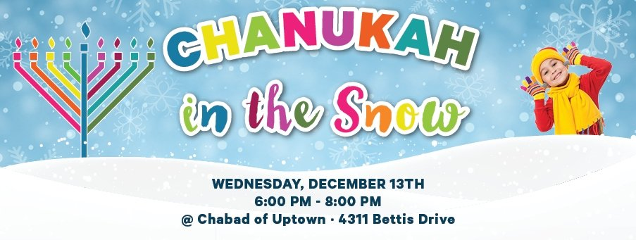 Chanukah in the Snow